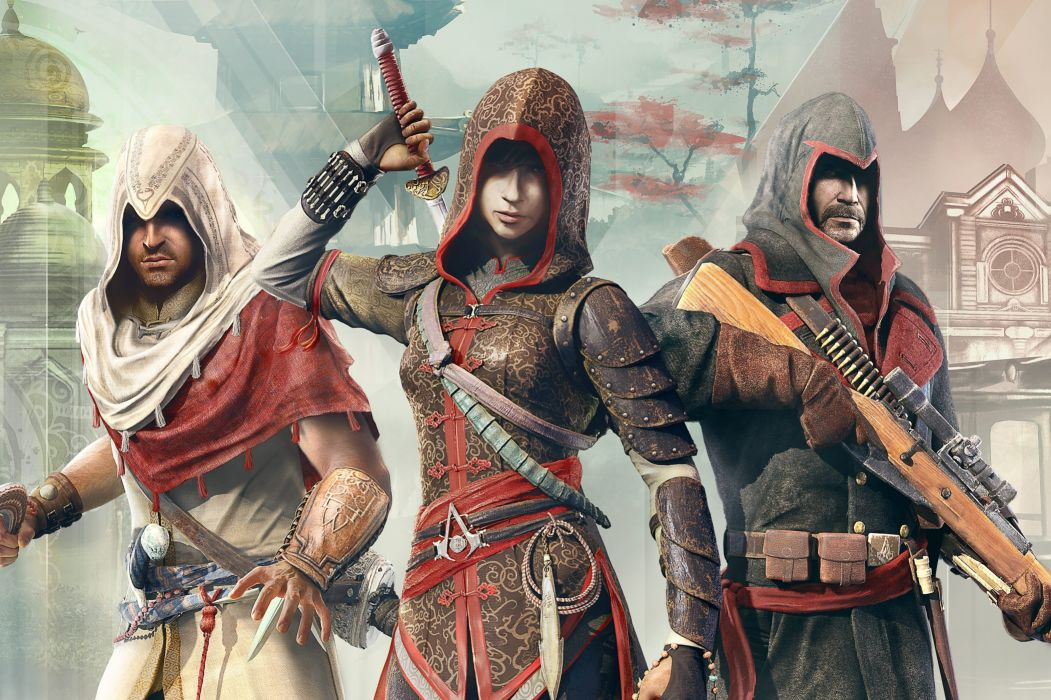 ASSASSINS CREED Chronicles fantasy action adventure fighting assassin warrior martial kung wallpaper