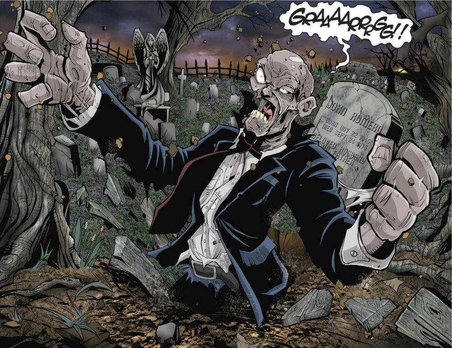 LIVING CORPSE horror comics dark evil death artwork zombie survival 1lcorpse monster poster wallpaper