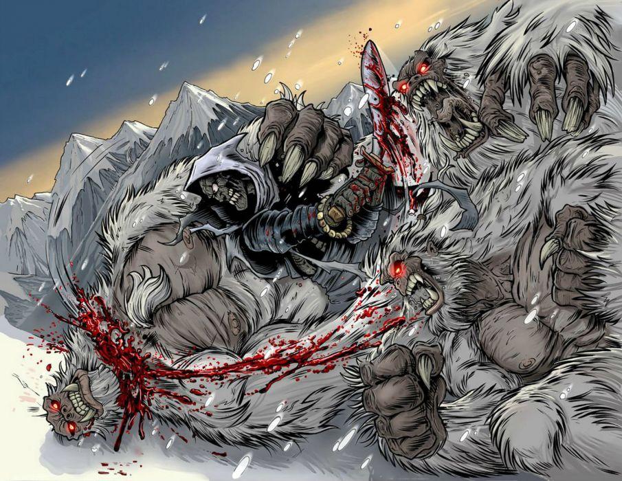 LIVING CORPSE horror comics dark evil death artwork zombie survival 1lcorpse monster blood wallpaper