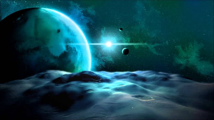 planetscape planet space moon wallpaper