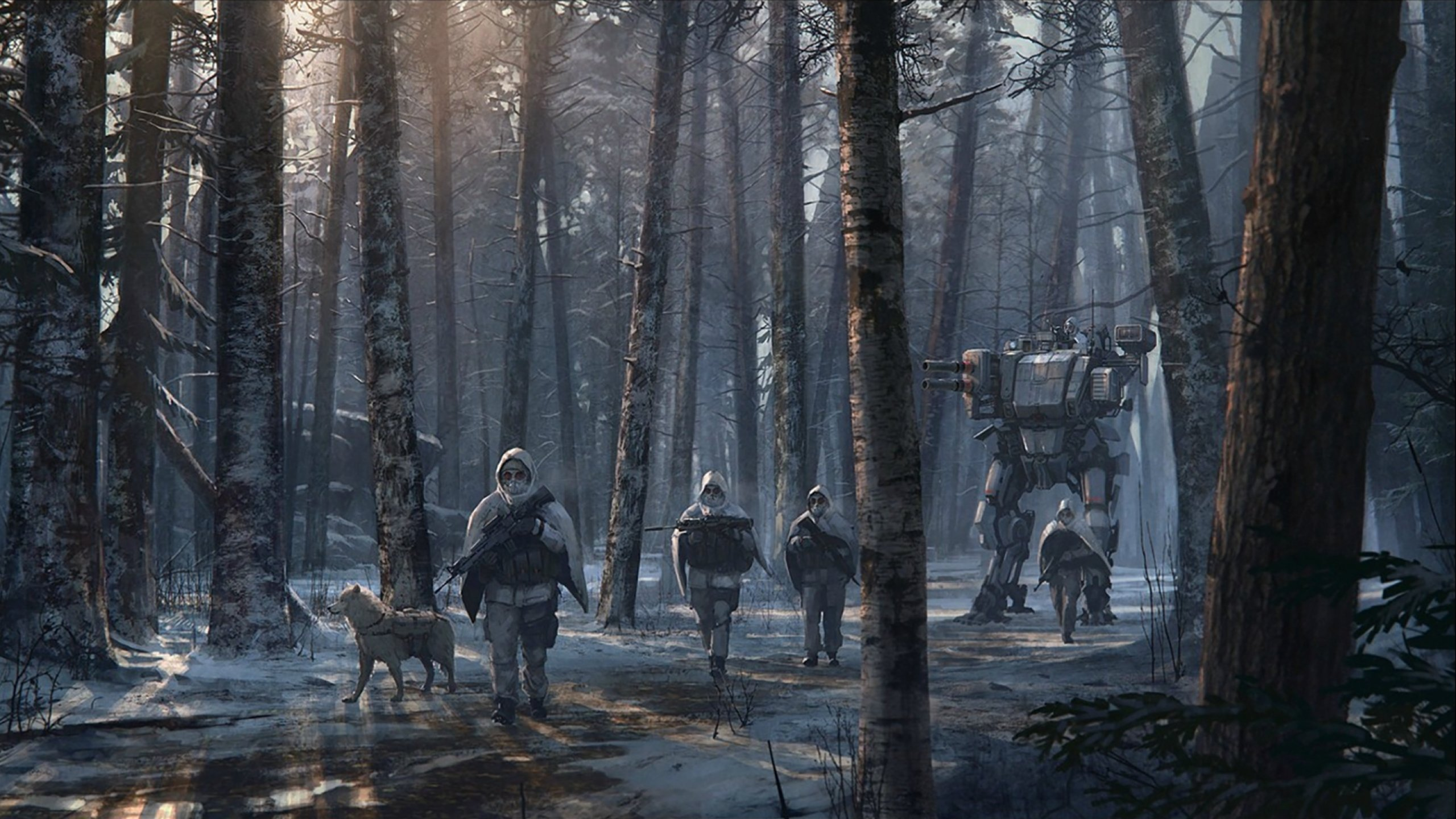 Солдат и член в лесу 7 фотография