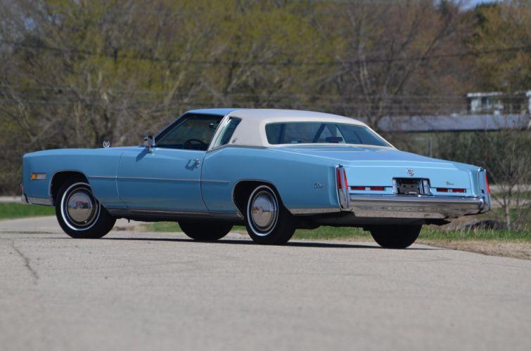 1975 Cadillac Eldorado Sedan Luxury Classic USA 4200x2790-05 wallpaper