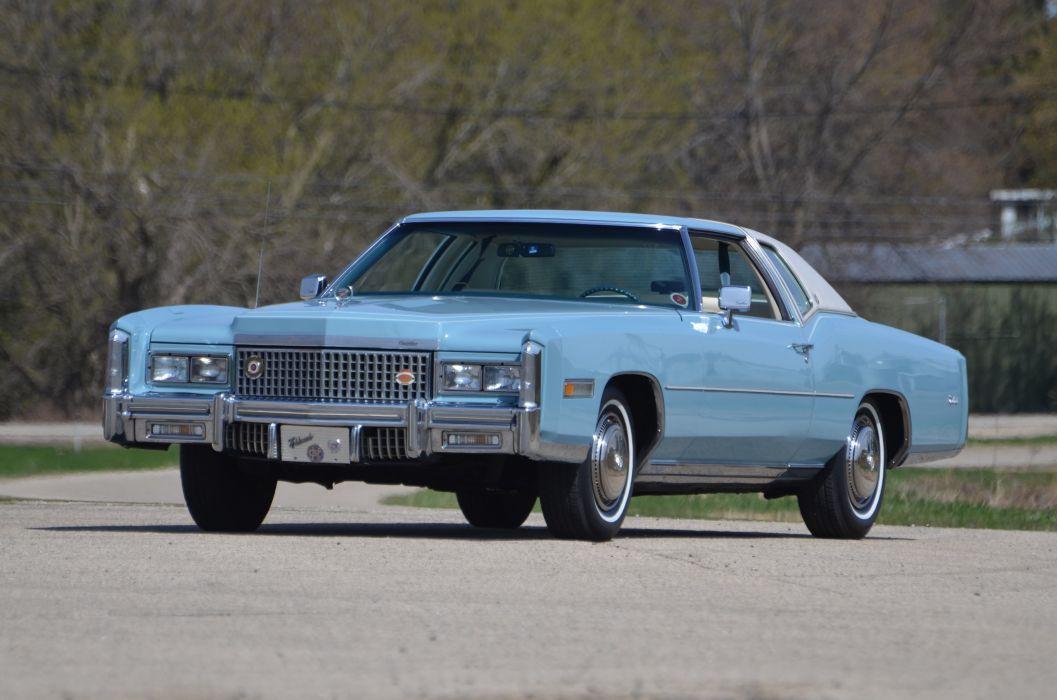 1975 Cadillac Eldorado Sedan Luxury Classic USA 4200x2790-02 wallpaper