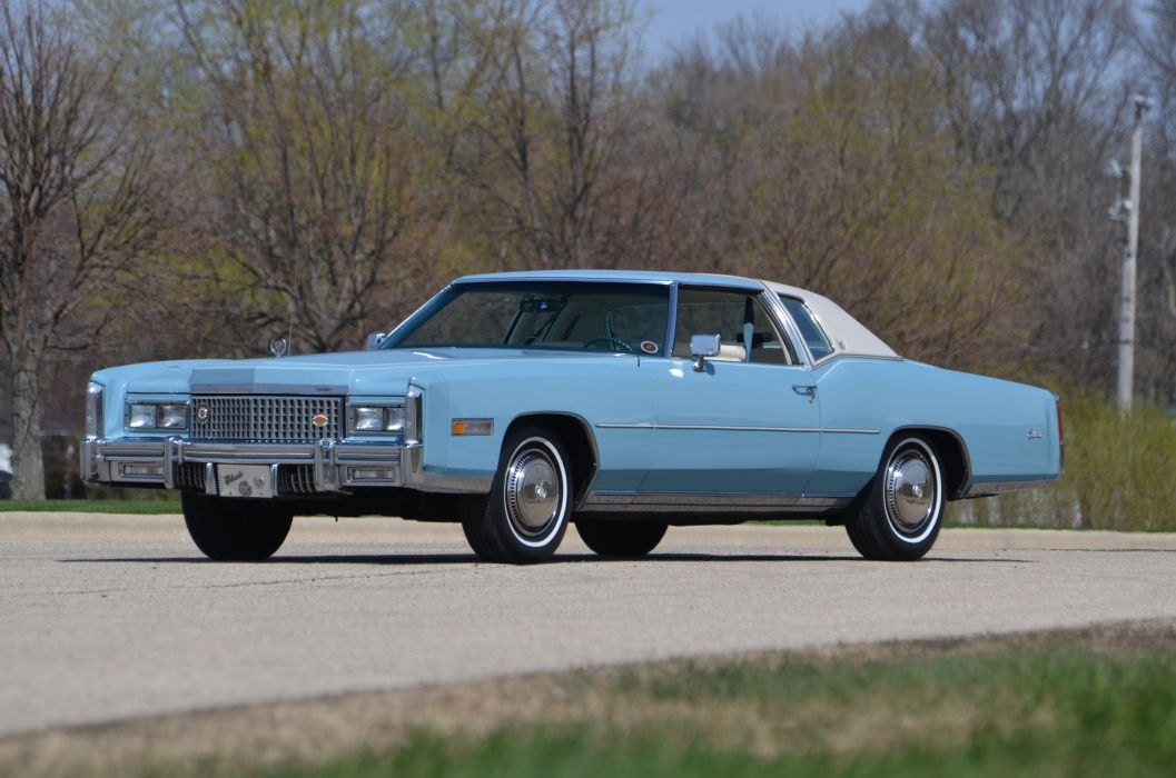 1975 Cadillac Eldorado Sedan Luxury Classic USA 4200x2790-01 wallpaper
