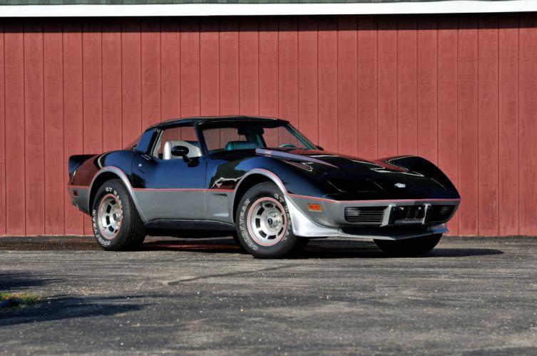 1978 Chevrolet Corvette L88 Pace Car Muscle Classic USA 4200x2790-01 wallpaper