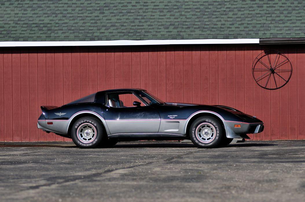 1978 Chevrolet Corvette L88 Pace Car Muscle Classic USA 4200x2790-02 wallpaper
