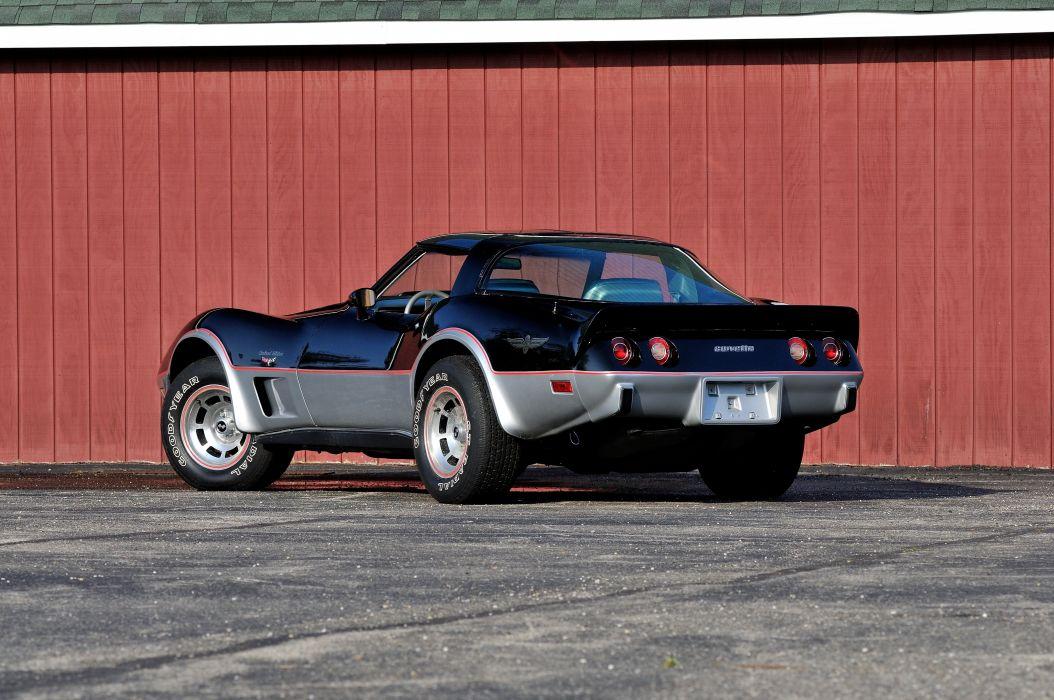 1978 Chevrolet Corvette L88 Pace Car Muscle Classic USA 4200x2790-03 wallpaper