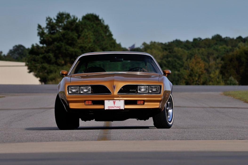 1978 Pontiac Firebird Muscle Classic Old USA 4200x2790-04 wallpaper