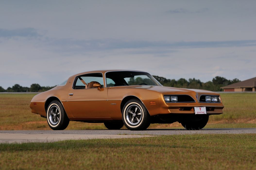 1978 Pontiac Firebird Muscle Classic Old USA 4200x2790-05 wallpaper
