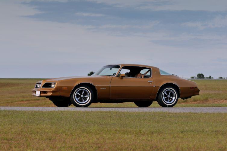 1978 Pontiac Firebird Muscle Classic Old USA 4200x2790-08 wallpaper