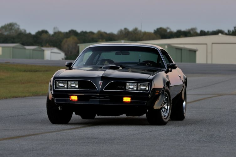 1978 Pontiac Trans Am Black Muscle Classic Old USA 4200x2790-07 wallpaper