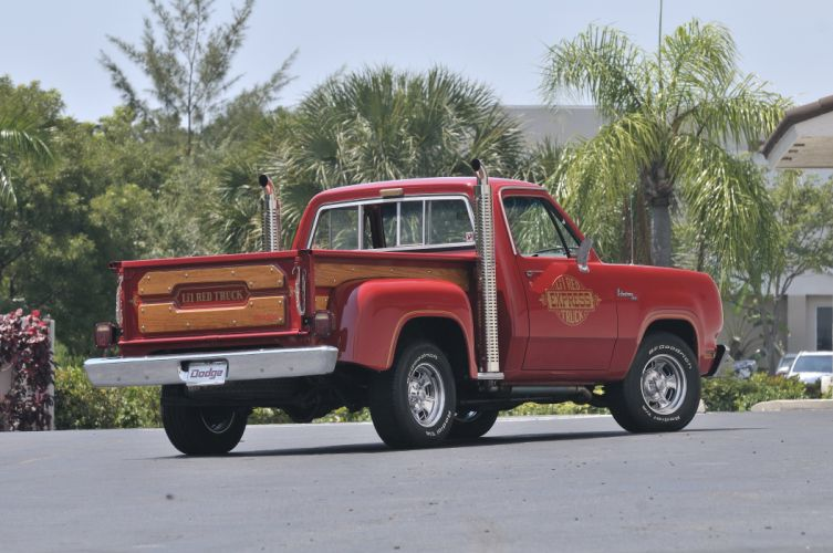 1979 Dodge Lil Red Express Pickup Custom Pickup Classic Old Red USA 4200x2790-02 wallpaper
