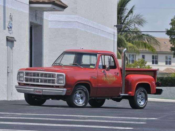1979 Dodge Lil Red Express Pickup Custom Pickup Classic Old Red USA 4200x3150-01 wallpaper