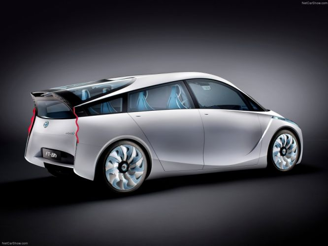 Toyota FT-Bh Concept cars 2012 wallpaper
