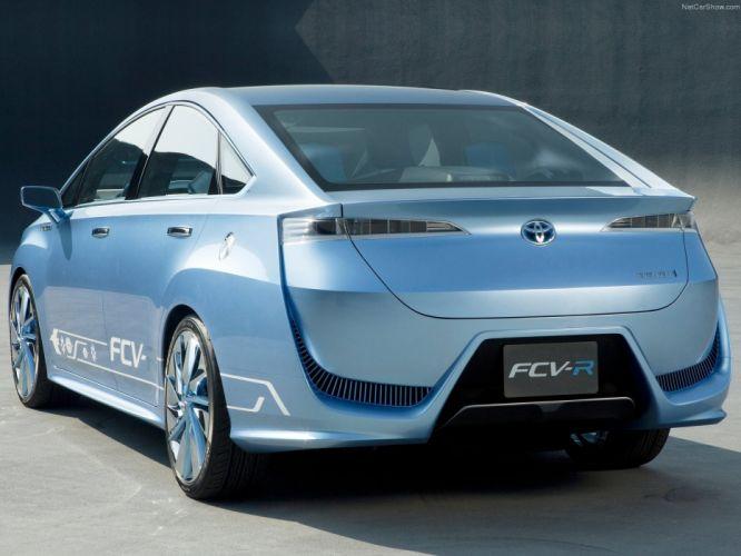 Toyota FCV-R Concept cars 2012 wallpaper