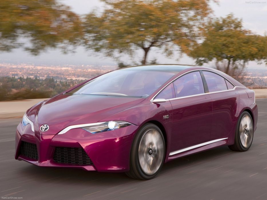 Toyota NS4 Advanced Plug-in Hybrid Concept cars 2012 wallpaper