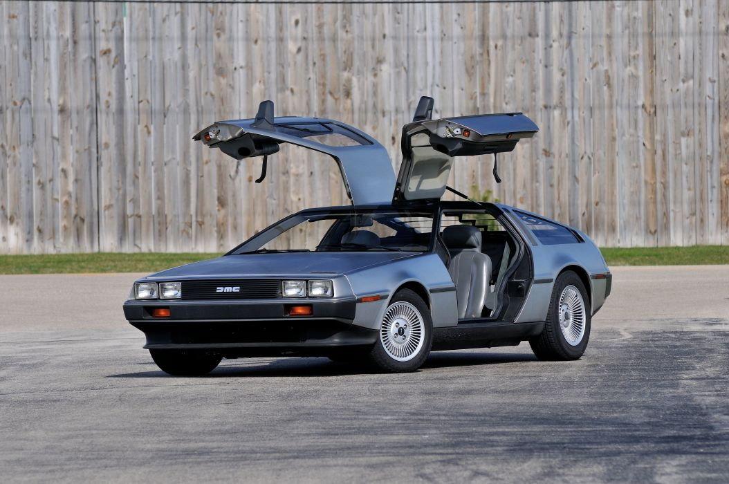 1983 Delorean DMC 12 Spot Classic Inox USA 4200x2790-01 wallpaper