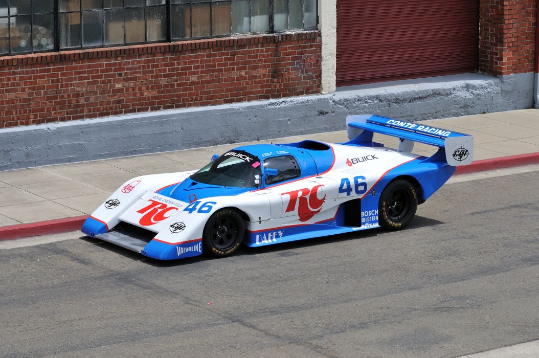 1985 March 85G Buick Racing Race Sport Prototype USA 4200x2790-04 wallpaper