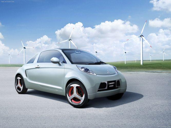 Mitsubishi i MiEV Concept cars 2007 wallpaper