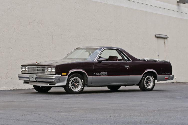 1986 Chevrolet El Camino SS Pickup Muscle Classic USA 4200x2800-01 wallpaper