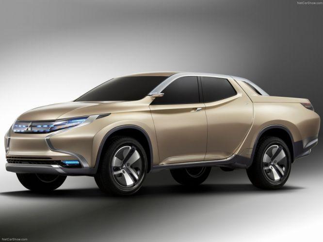 Mitsubishi GR-HEV Concept cars truck pickup concept 2013 wallpaper