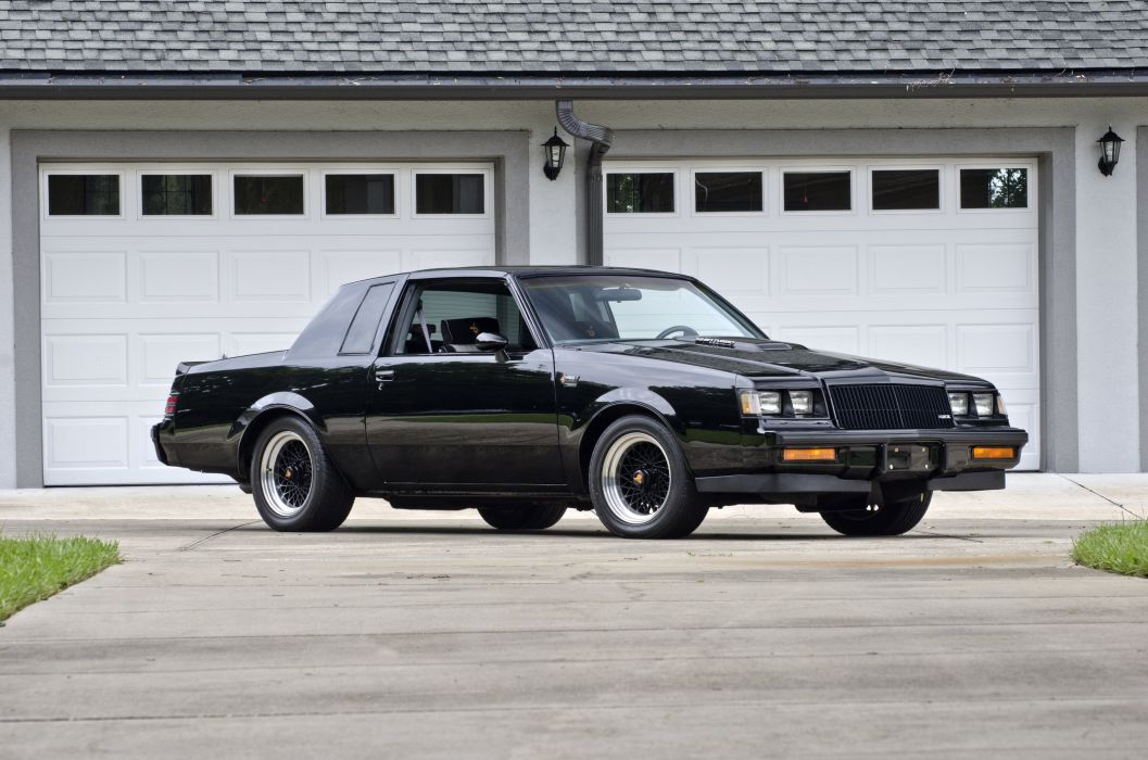 1986 Buick Grand National Muscle Classic USA 4200x2790-01 wallpaper