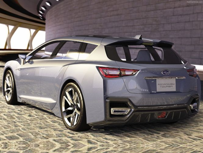 Subaru Advanced Tourer Concept cars wagon 2011 wallpaper