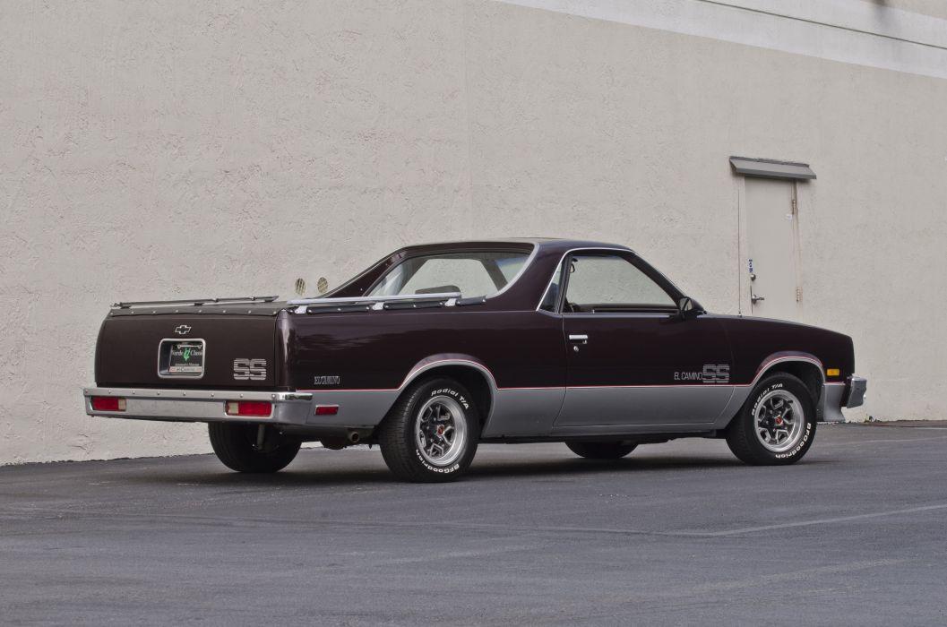1986 Chevrolet El Camino SS Pickup Muscle Classic USA 4200x2800-03 wallpaper