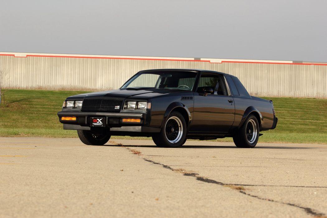 1987 Buick GNX Muscle Classic USA 4200x2800-01 wallpaper