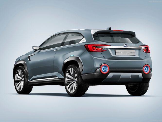 Subaru Viziv 2 Concept cars suv 2014 wallpaper