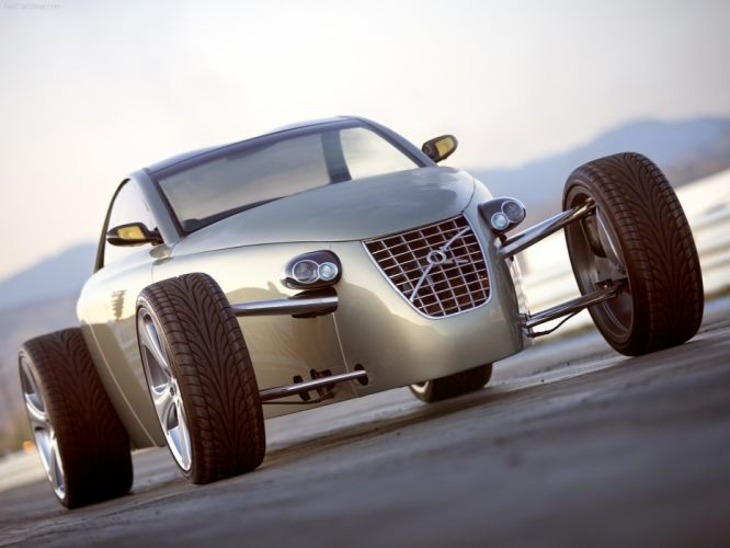 Concept roadster supercars volvo t6 cars 2005 wallpaper