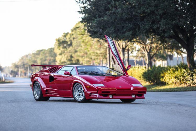 1989 Lamborghini Countach 25th Anniversary Supercar 4200x2800-03 wallpaper