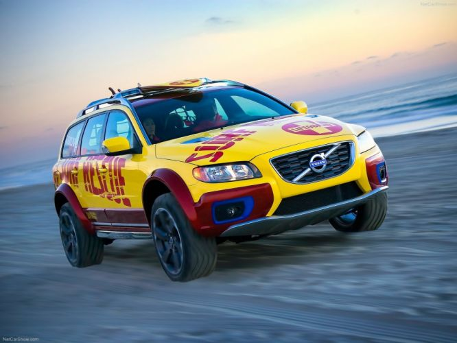 Volvo XC70 Surf Rescue Concept cars suv 2007 wallpaper