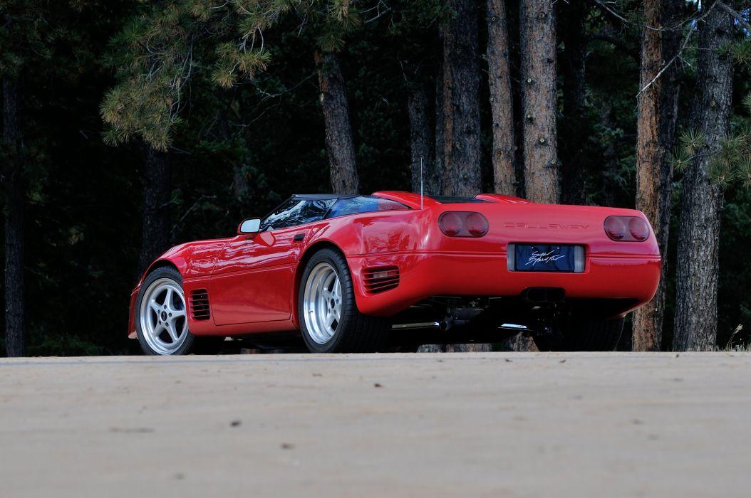 1990 Chevrolet Corvette ZR1 Callaway Super Spedster Muscle USA 4200x27900-03 wallpaper