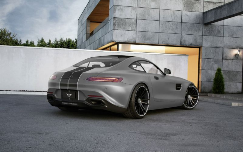 Wheelsandmore Mercedes AMG GT S Coupe tuning 2015 cars wallpaper
