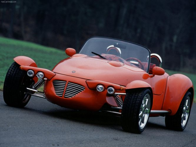 Rinspeed Roadster Concept cars 1995 wallpaper