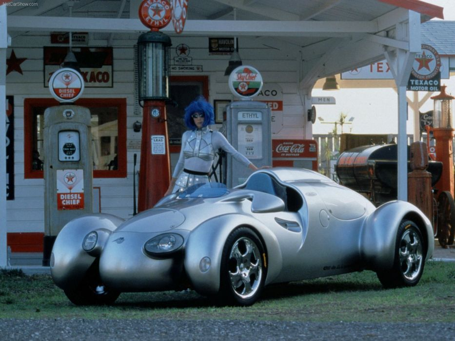 Rinspeed E-Go Rocket Concept cars 1998 wallpaper