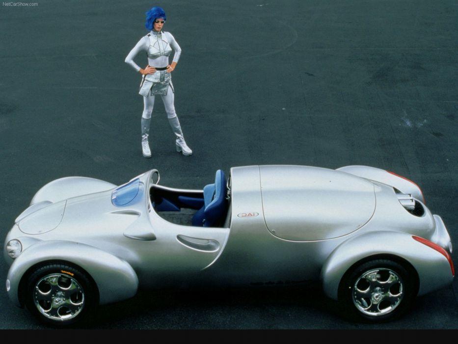 Rinspeed E-Go Rocket Concept cars 1998 wallpaper