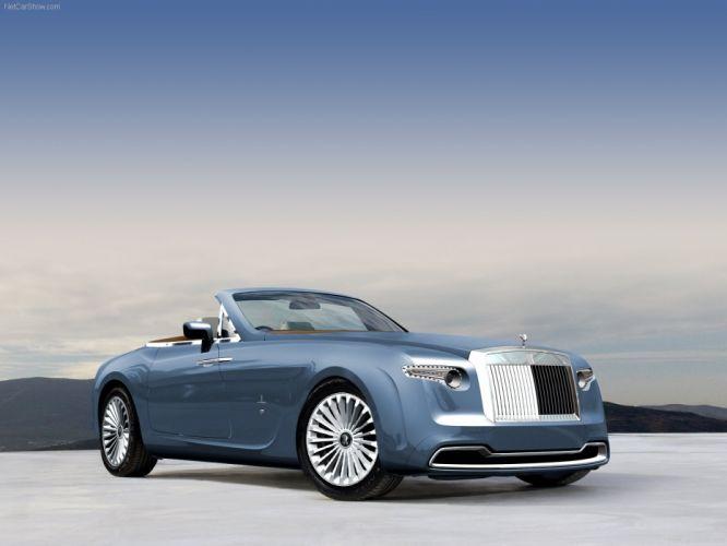 Pininfarina Rolls-Royce Hyperion concept cars luxury 2008 wallpaper