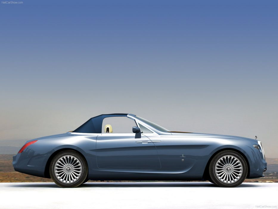 Pininfarina Rolls-Royce Hyperion concept cars luxury 2008 wallpaper