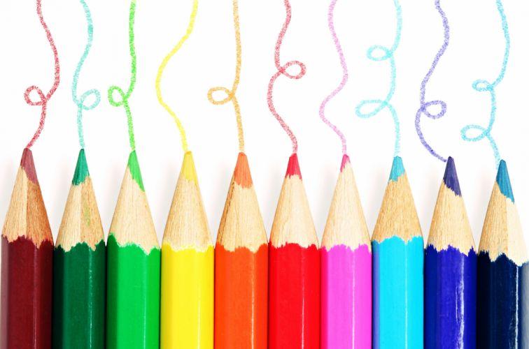 colors 10 ten pens Coloring kids children Pupil drawing wallpaper