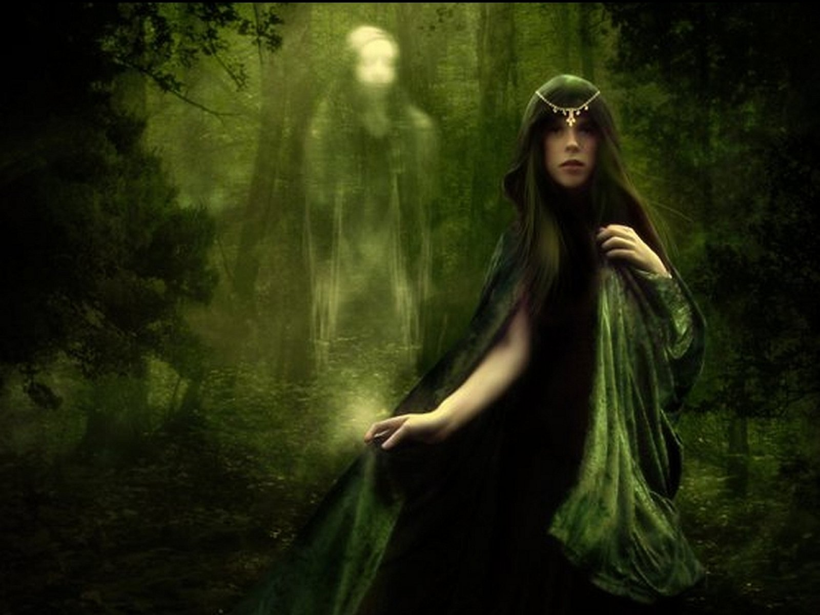 ... ghost fantasy art artwork horror spooky creepy halloween gothic witch