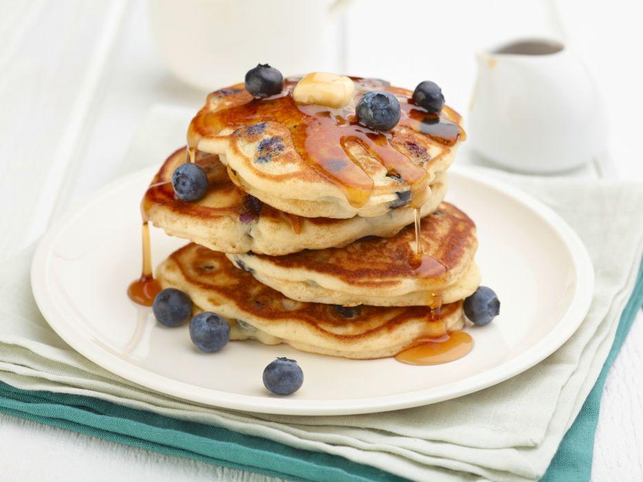 pancakes breakfast bread dough flour waffles wallpaper