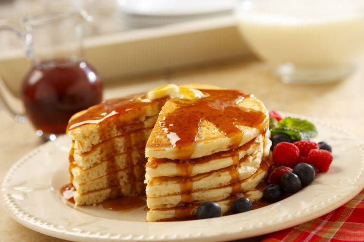 pancakes breakfast bread dough flour waffles wallpaper