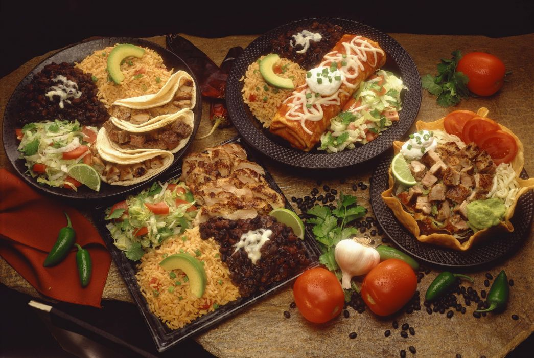 Mexican food dinner lunch mexico spanish wallpaper ...
