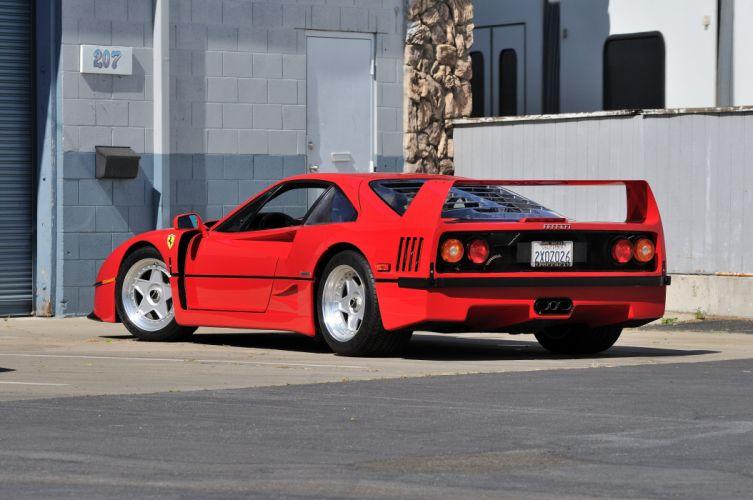 1990 Ferrari F40 Supercar 4200x2790-03 wallpaper