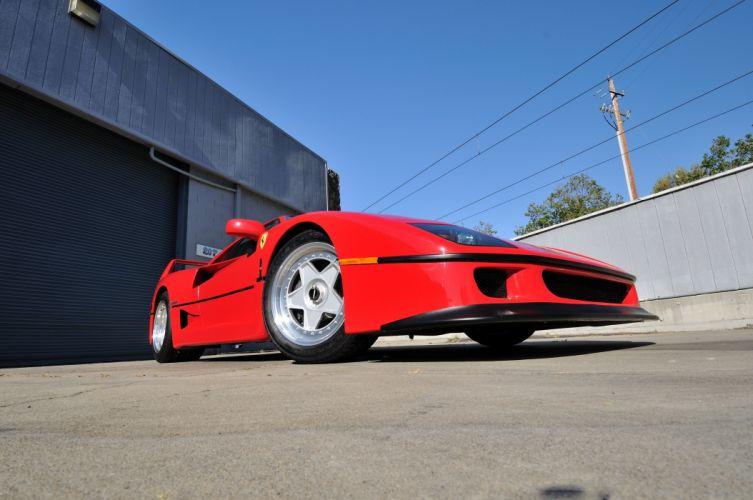 1990 Ferrari F40 Supercar 4200x2790-08 wallpaper