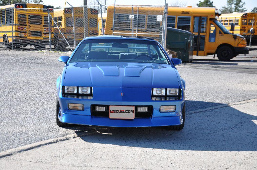 1991 Chevrolet Camaro Z28 Muscle Classic Blue USA 4200x2790-02 wallpaper