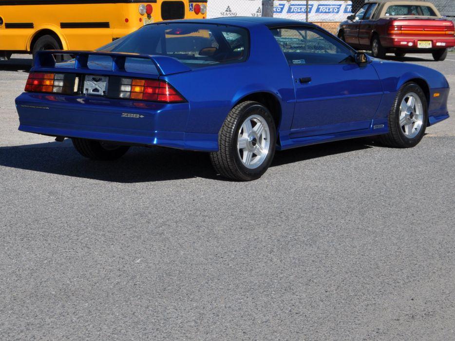 1991 Chevrolet Camaro Z28 Muscle Classic Blue USA 4200x3150-03 wallpaper