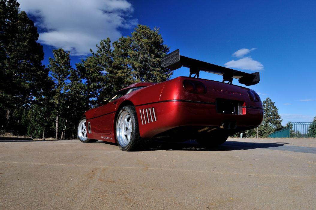 1991 Chevrolet Corvette ZR1 Callaway Muscle Supercar USA 4200x2790-06 wallpaper